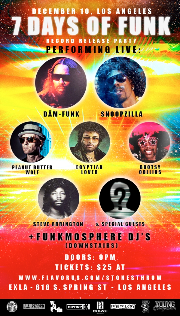 7 Days of Funk Release Party - Los Angeles