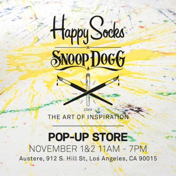 HappySocksXSnoopDogg-PopUpStorePublic